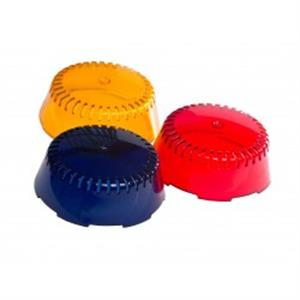 Jeux de 3 capots colorés permutables (bleu, orange, rouge)